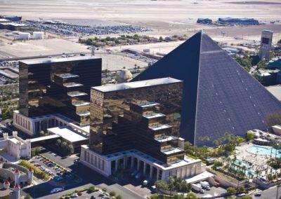 Luxor Hotel & Casino Aerial