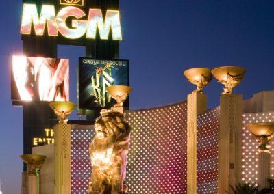 MGM Grand Hotel Casino Lion