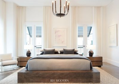Restoration Hardware Architecture Bedroom