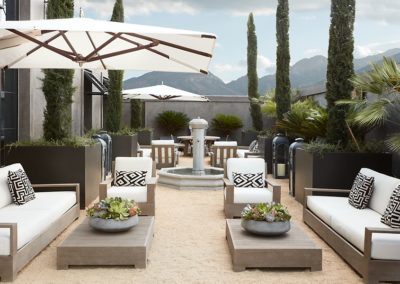 Restoration Hardware Architecture Rooftop