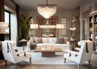 Restoration Hardware Architecture Vignette