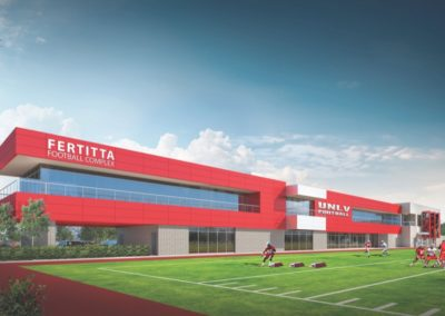 UNLV Fertitta Football Complex Architects