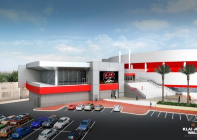 UNLV Thomas & Mack Architects West
