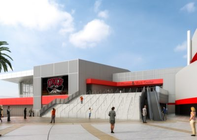West UNLV Thomas & Mack Architects