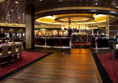 Hard Rock Center Bar Design