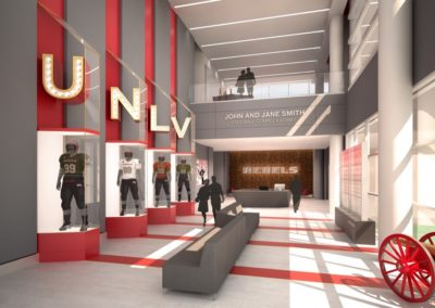 UNLV Fertitta Architect
