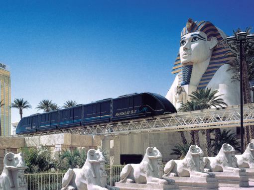 Luxor and Mandalay Bay Monorail