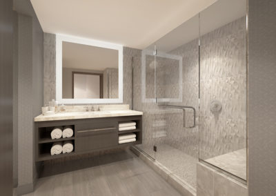 Pala Balcony Suite Bath