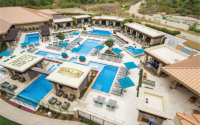 Klai Juba Wald Interiors is featured for Pala Casino Spa & Resort Opens New Pool – Indian Gaming June 2018