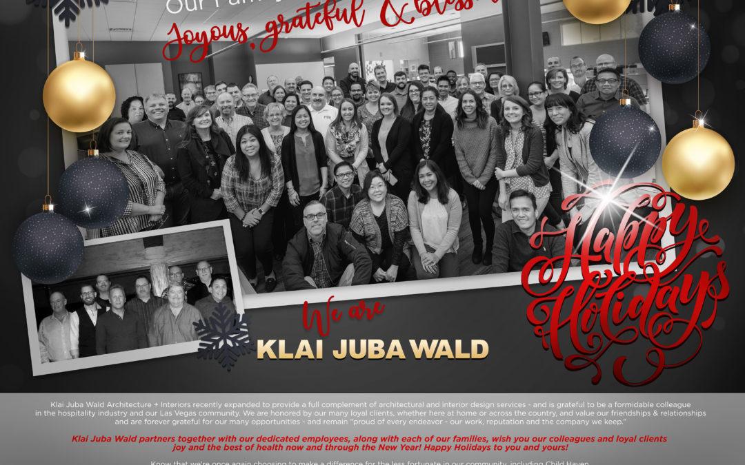 Happy Holidays from Klai Juba Wald