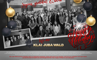 Happy Holidays from Klai Juba Wald